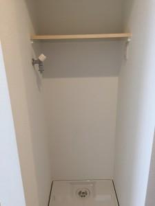 洗濯機置場棚