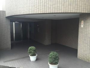 ライツ鶴見ガーデンハウスエントランス前