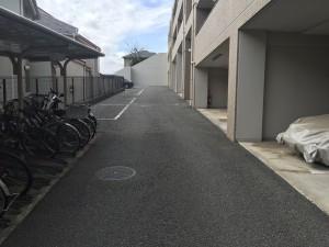 ライツ鶴見ガーデンハウス駐車場