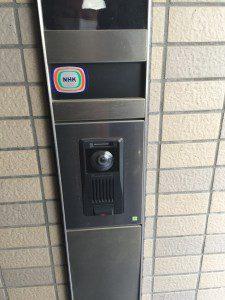 インターフォン玄関