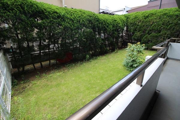 藤和シティコープ三ツ池 専用庭